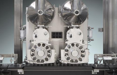 powder filler / automatic / servo-driven / linear