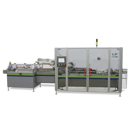 continuous-motion cartoner / horizontal / blister / bottle