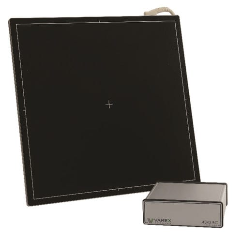 multipurpose radiography flat panel detector / portable / 17 x 17