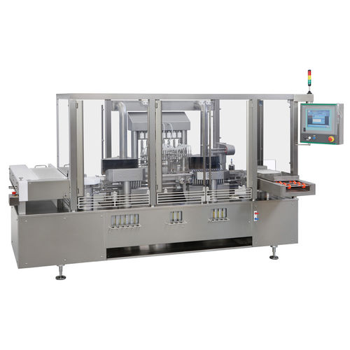 filling and sealing machine for the medical industry / for drug ampoules / automatic / aseptic