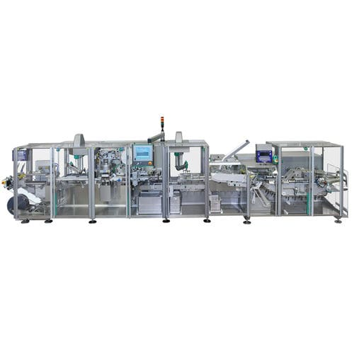 robotic packaging system / floor-standing / line-type / for the medical industry