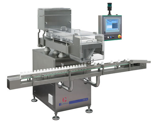 counting-filling machine for the pharmaceutical industry