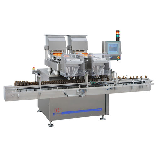counting machine for the pharmaceutical industry / electronic / with touchscreen / compact