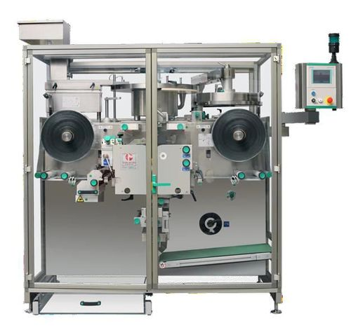 automatic packaging system / compact / for the pharmaceutical industry / for medicine