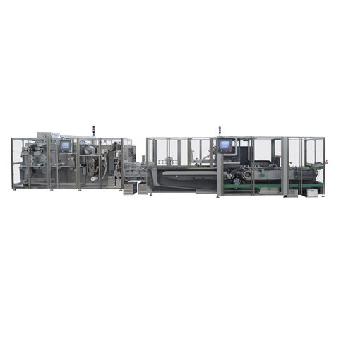 blister packaging system / automatic / robotic / floor-standing