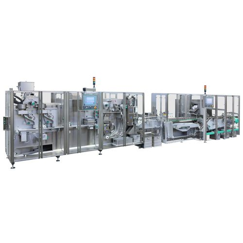 blister packaging system / servo-driven / automatic / floor-standing
