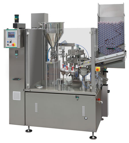 filling and sealing machine for the pharmaceutical industry / automatic