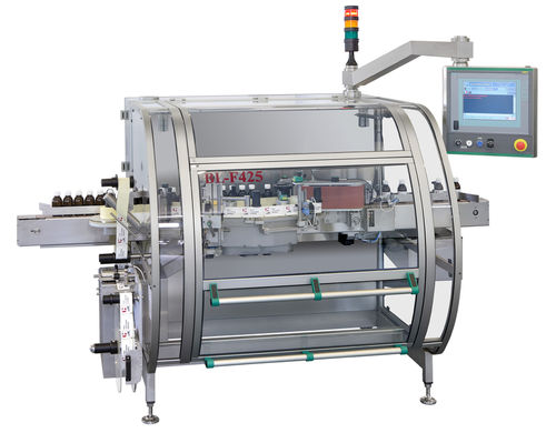 bottle labeling machine / for conveyor belts / for vials / automatic