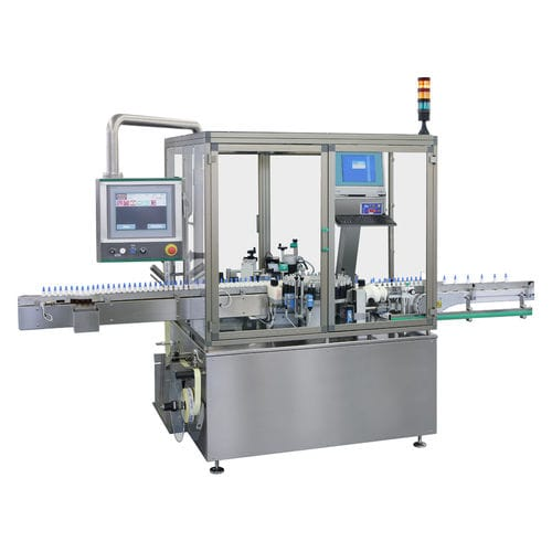 bottle labeling machine / automatic / high-speed / in-line