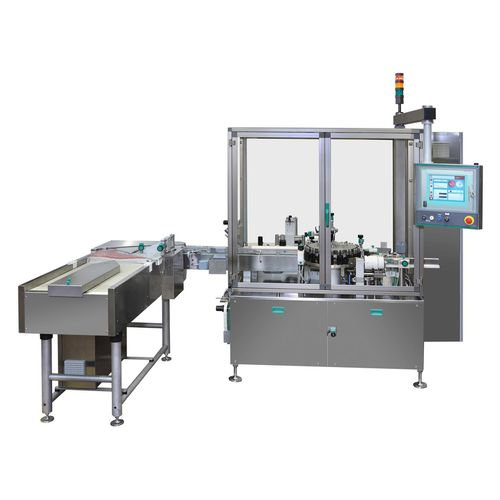 bottle labeling machine / for vials / automatic / high-speed