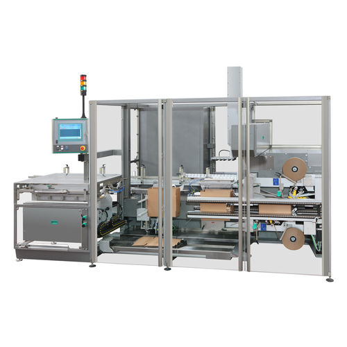 automatic packaging system / floor-standing / compact / vertical