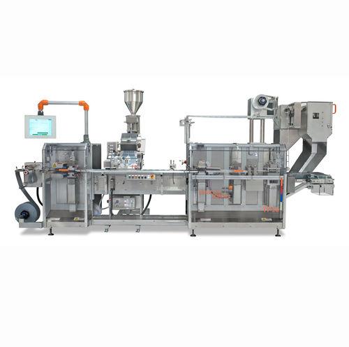 floor-standing packaging system / blister / for the pharmaceutical industry / for blister packs
