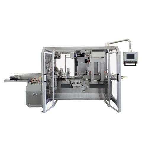 case packaging machine / servo-driven / form-fill-seal / compact