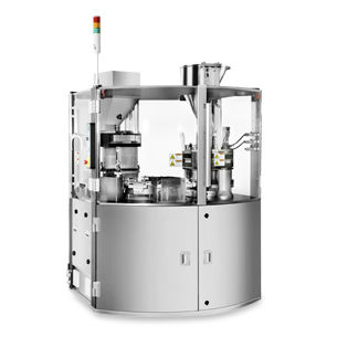capsule filler / automatic / floor-standing / for the pharmaceutical industry