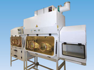 radiopharmacy isolator / class III / aseptic / dispensing