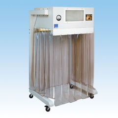 vertical laminar flow enclosure / laboratory / for the pharmaceutical industry / medical