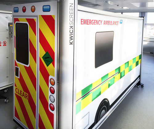emergency care simulation screen - KwickScreen