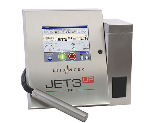 inkjet printer / for plastics / with touch screen