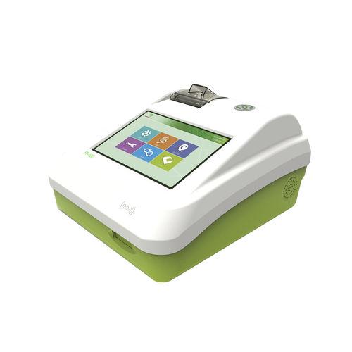 fluorescence immunoassay analyzer / automatic / for clinical diagnostic / portable