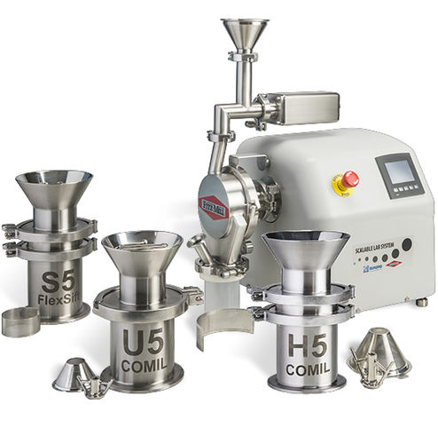 hammer mill / cone / laboratory / for the pharmaceutical industry