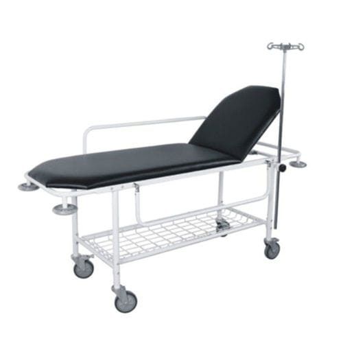 transport stretcher trolley / manual / 2-section