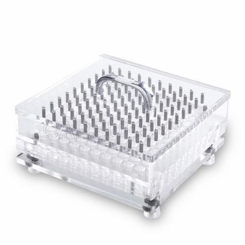 capsule filling machine / manual / tabletop / compact
