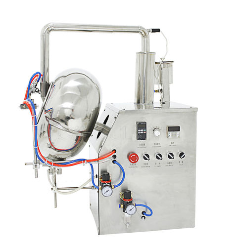 tablet coating system / compact / continuous