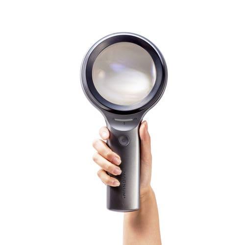 UV LED dermatoscope / white LED