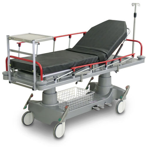 transport stretcher trolley / emergency / recovery / manual