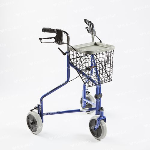 3-caster rollator / with basket