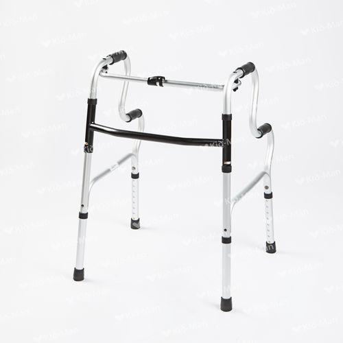 height-adjustable walker / folding