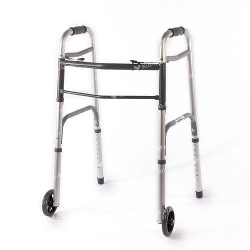height-adjustable walker / 2-wheel