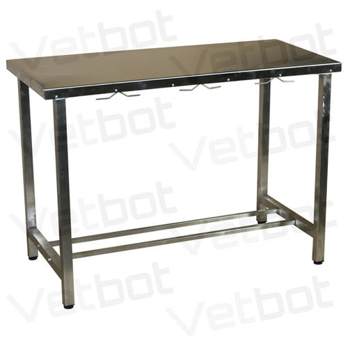 veterinary operating table / manual / fixed-height / for small animals