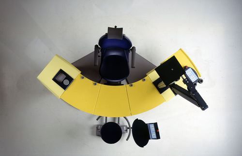 ophtalmic workstation / with chair / modular