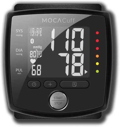 general medicine blood pressure monitor / automatic / wrist / compact