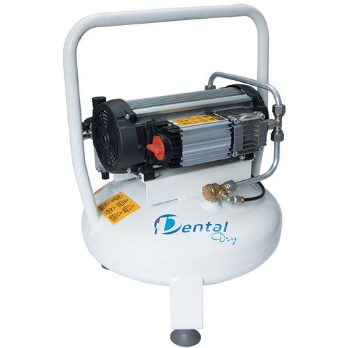 medical air compressor / for dental laboratories / with air dryer