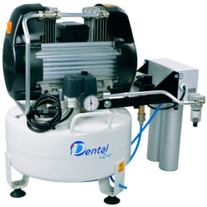 medical air compressor / for dental laboratories / rocking piston / with air dryer