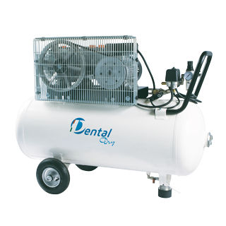 medical air compressor / for dental laboratories / for milling machines / rocking piston