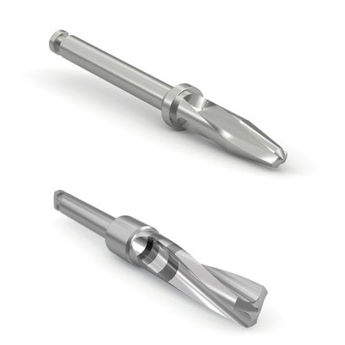 surgical drill bit / for dental implantology