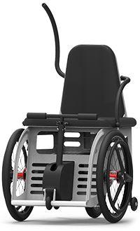 lever-propelled wheelchair / outdoor / indoor / lifting