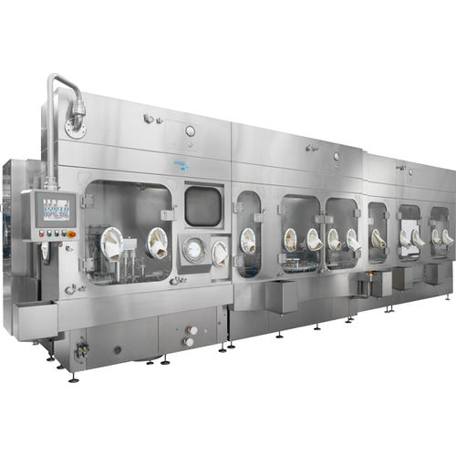 ISO class 5 isolator / for the pharmaceutical industry / filling / floor-standing