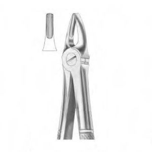 canine teeth dental extraction forceps / English pattern