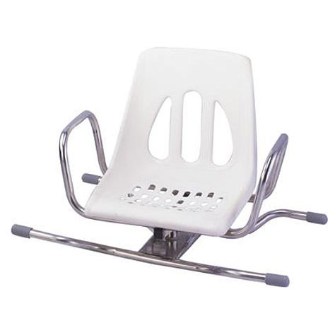 shower chair / with armrests / with backrest / hanging