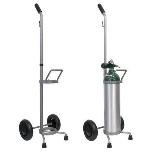 anesthesia cart / oxygen cylinder