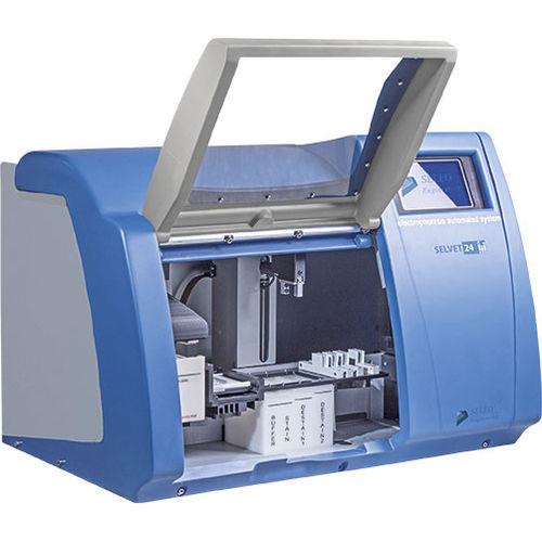 veterinary electrophoresis system / cellulose acetate / for proteins / bench-top