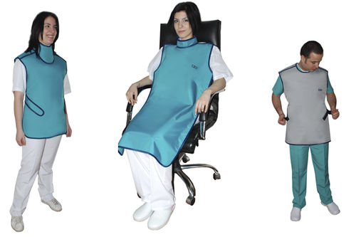 X-ray protective dental apron