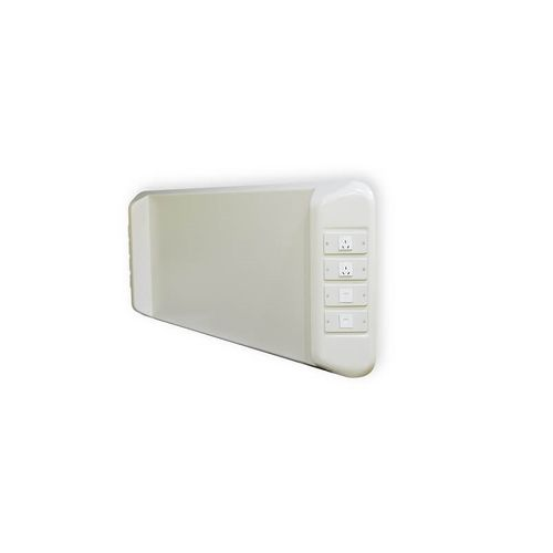 wall-mounted bed head unit / horizontal