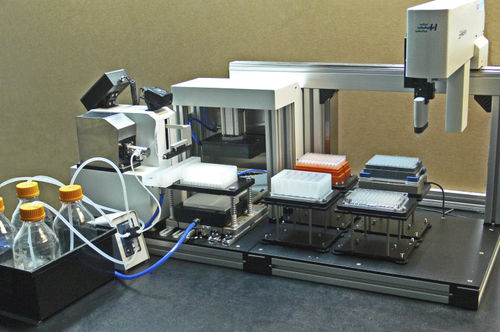 automated sample preparation system / laboratory / for DNA extraction / for RNA extraction