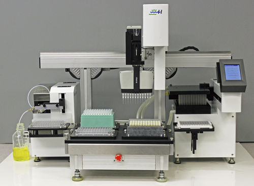 fully automated ELISA workstation / for clinical diagnostic / benchtop / with sample preparation