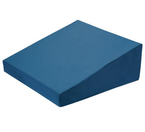 hip positioning cushion / polyurethane / fire-resistant / wedge-shaped